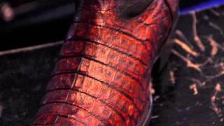 El 7 Leguas   Botas Cuadra de Cocodrilo