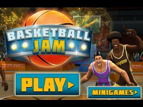 Basketball Jam - Miniclip Flash Game Gameplay By Magicolo