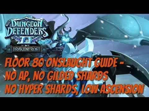 No AP No Gilded or Hyper Shards Floor 80 Guide!