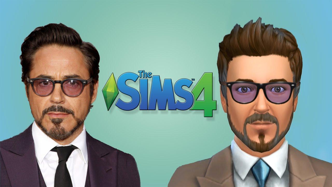 Robert Downey Jr The Sims 4 YouTube