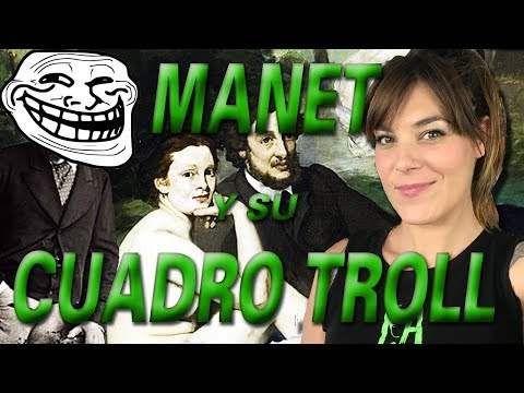 MANET EL TROLEADOR | ALMUERZO SOBRE LA HIERBA | LA GATA VERDE