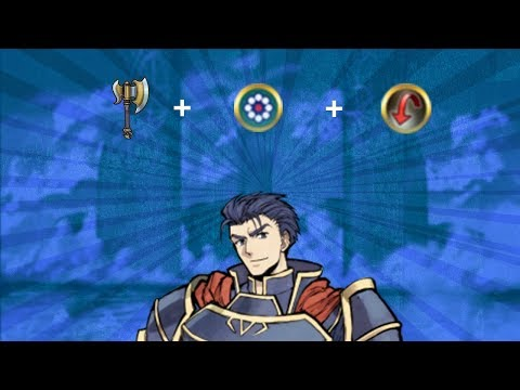 So something funny happens when you give Hector the Quick Riposte seal and Wary Fighter