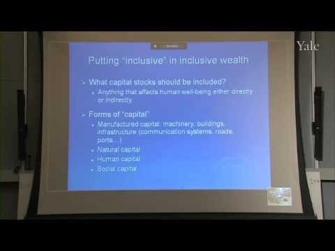 TEEB@YALE: Inclusive Wealth and Sustainable Development: Stephen Polasky