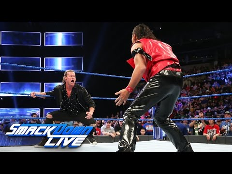 Thumbnail: Shinsuke Nakamura takes out Dolph Ziggler: SmackDown LIVE, April 11, 2017