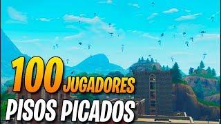 100 jugadores en PISOS PICADOS! FORTNITE: Battle Royale (Partidas Privadas) thumbnail