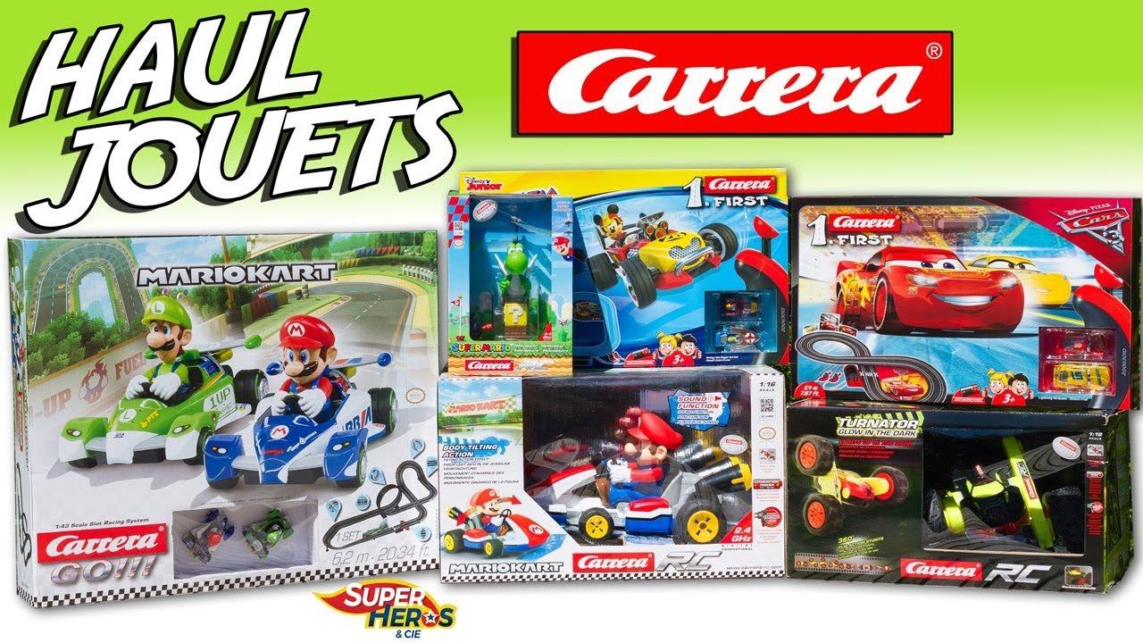 Mariokart Mickey Carrera Jouets Cars Et Compagnie Circuit Voitures Haul Aux Kids Super Chasse Héros XuOTiZPk