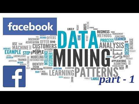 Data Mining - Facebook Part 1