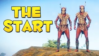 THE START - Rust (Stuck in the Stone Age #1)