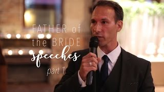 Father of the Bride Speech | Nostalgic