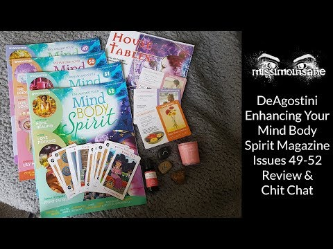 (UK Review 14) Enhancing your Mind, Body, Spirit Magazine Issue 49,50,51 and 52 Subscription