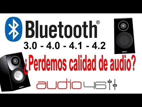 Bluetooth ¿Perdemos calidad de audio? Diferencias entre versiones