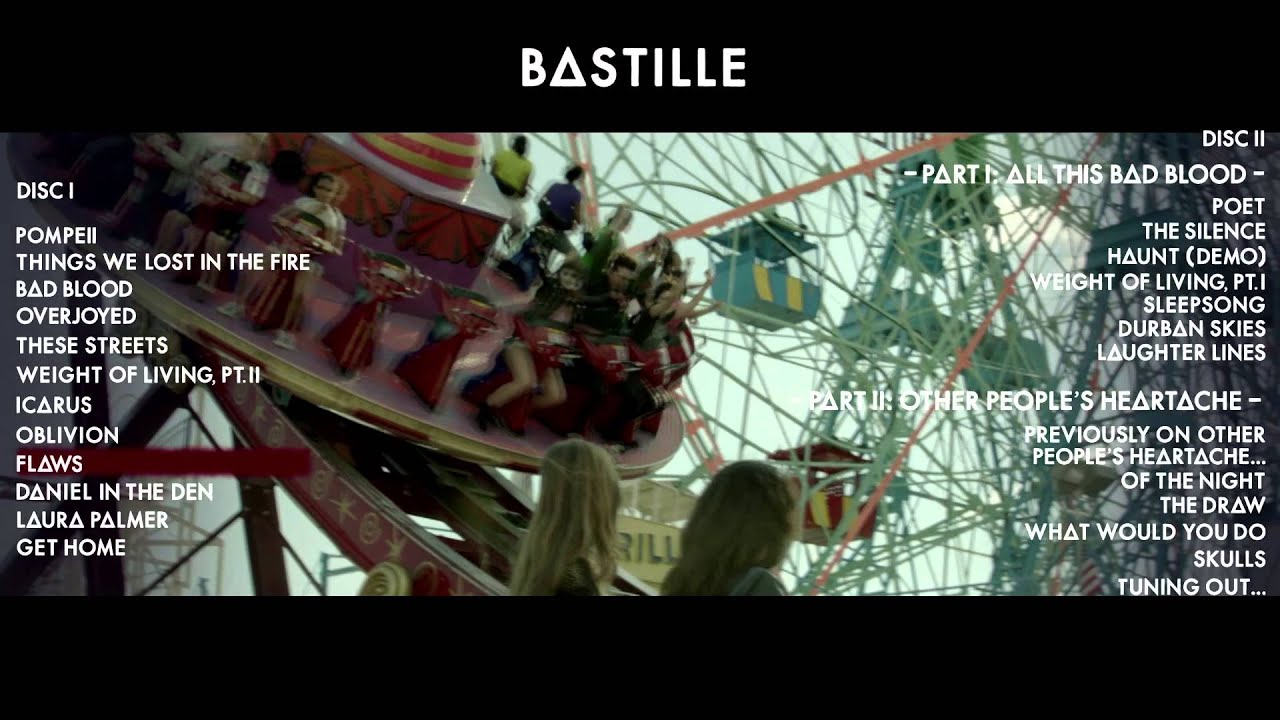 bastille all this bad blood album download