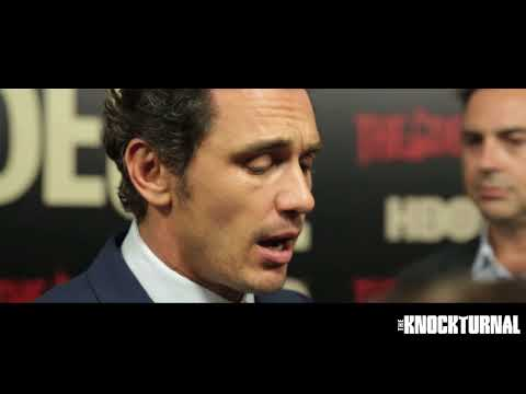 James Franco, Maggie Gyllenhaal, David Simon, & Emily Meade HBO's