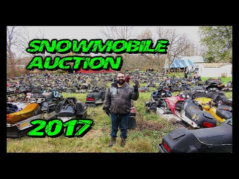 Snowmobile Auction 2017