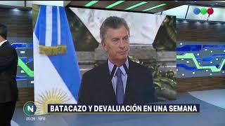 Edgardo Moreno realiza el balance de una de las semanas económicas más complicadas del año