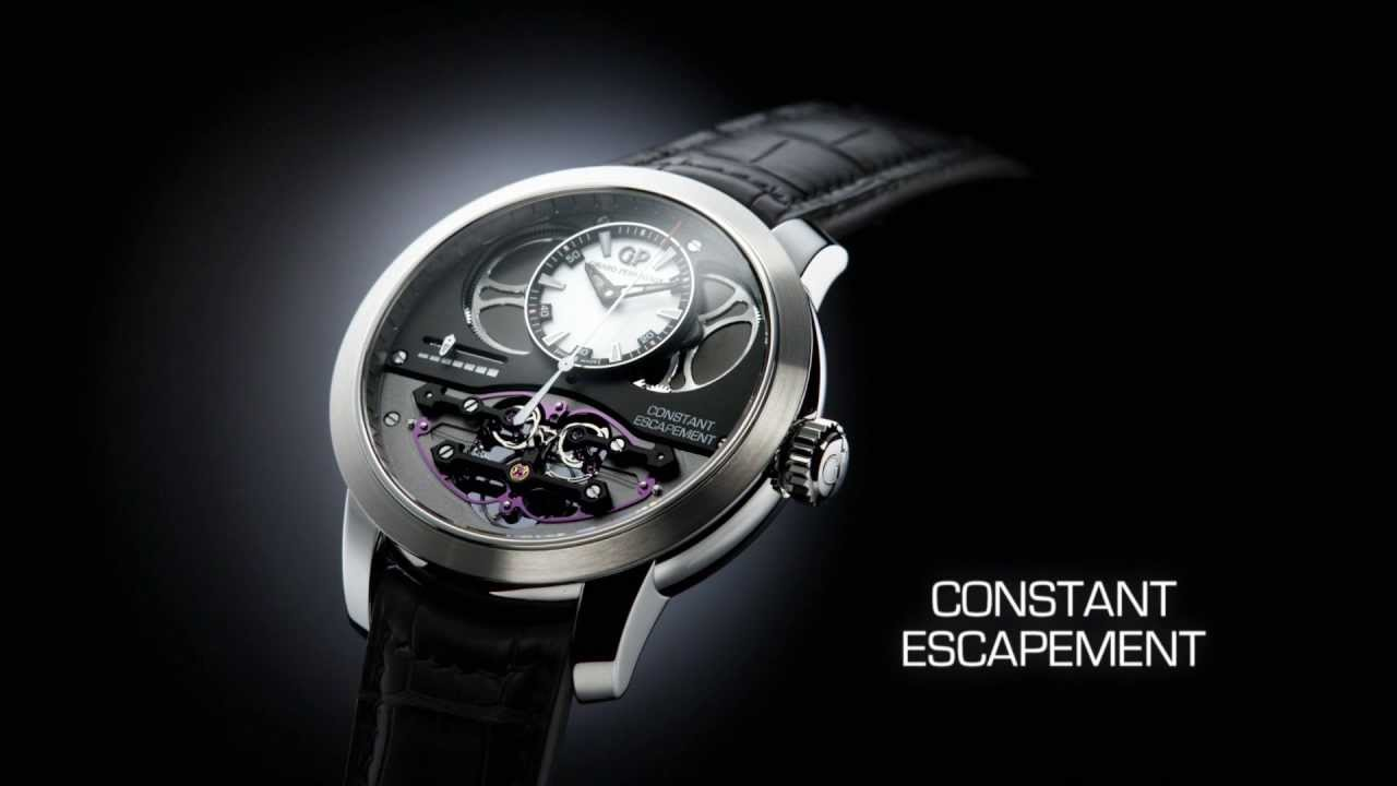 Girard perregaux constant escapement l m youtube for Girard perregaux