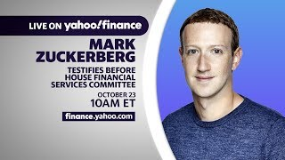 LIVE: Mark Zuckerberg testifies before the House Financial Services Committee
