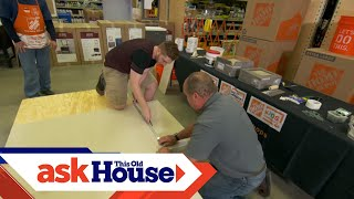 Tiling Workshop at The Home Depot with Richard Trethewey, Recorded Live: July 28, 2018