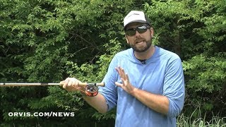 ORVIS Fly Casting Lessons The Snake Roll Cast