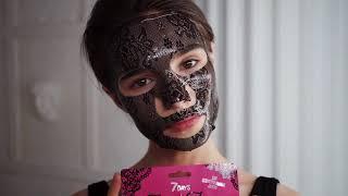 Кружевная маска для лица 7DAYS