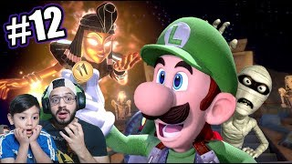 Momias y Trampas en la Mansion de Luigi | Luigi's Mansion 3 Capitulo 12 | Juegos Karim Juega