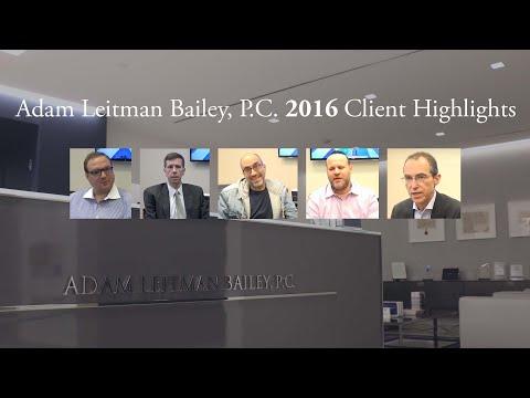 Adam Leitman Bailey, P.C.  2016 Year in Review