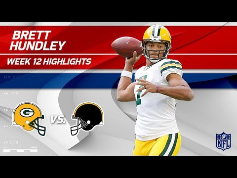 Brett Hundley's Huge Game w/ 3 TDs & 245 Yards! | Packers vs. Steelers | Wk 12 Player HLs