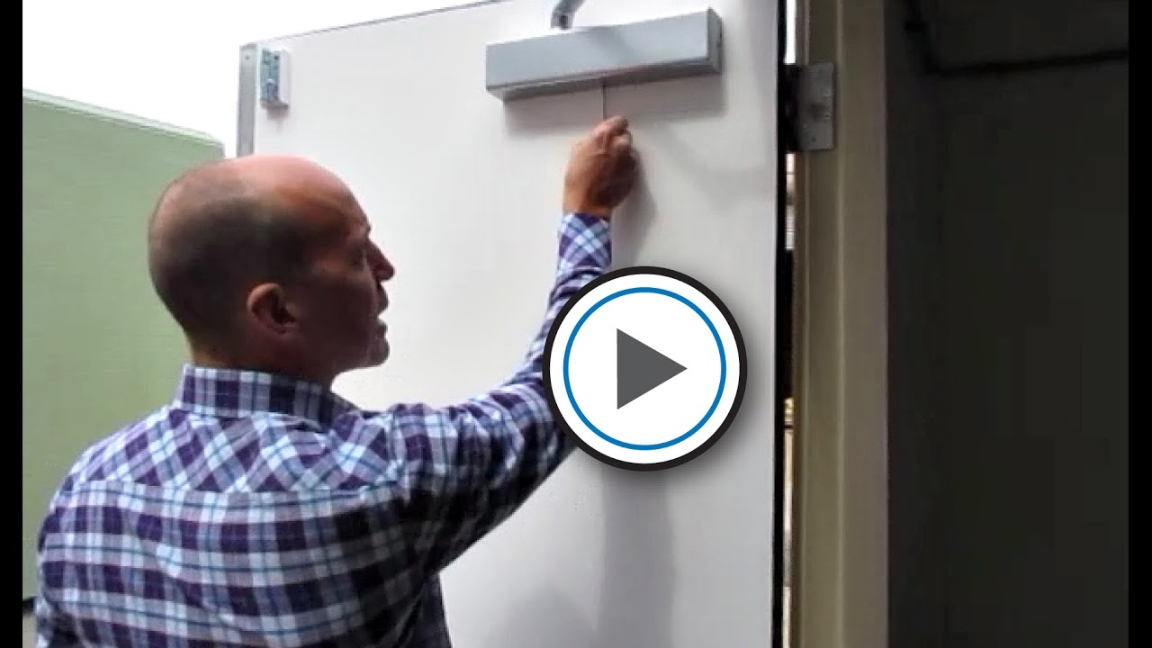 How Do You Properly Adjust A Door Closer? & How Do You Properly Adjust A Door Closer? - YouTube