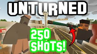 250 BULLET AUTOMATIC EKHO! Changing The Code in Unturned!