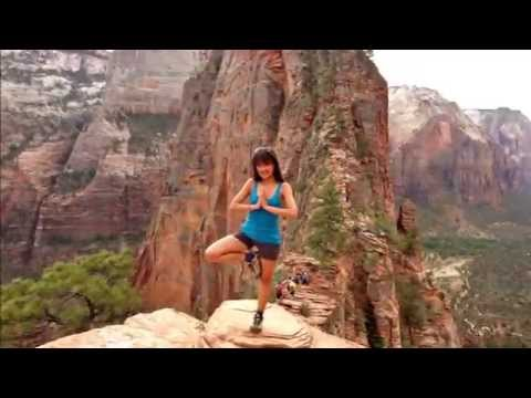 Zion National Park - Angels Landing hike - The best view!!