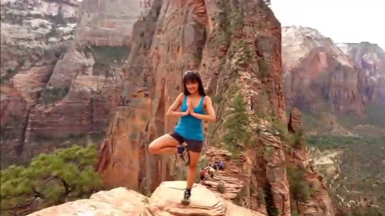 Zion National Park - Angels Landing Hike - The Best View