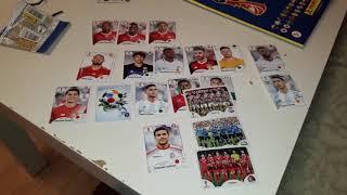 PANINI Чемпионат Мира 2018 / FIFA World Cup 2018. Обзор журнала с наклейками