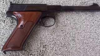 Colt Woodsman 22 Semi-Suto Pistol