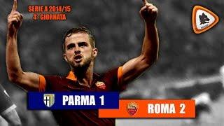 Video Gol Pertandingan Parma vs AS Roma