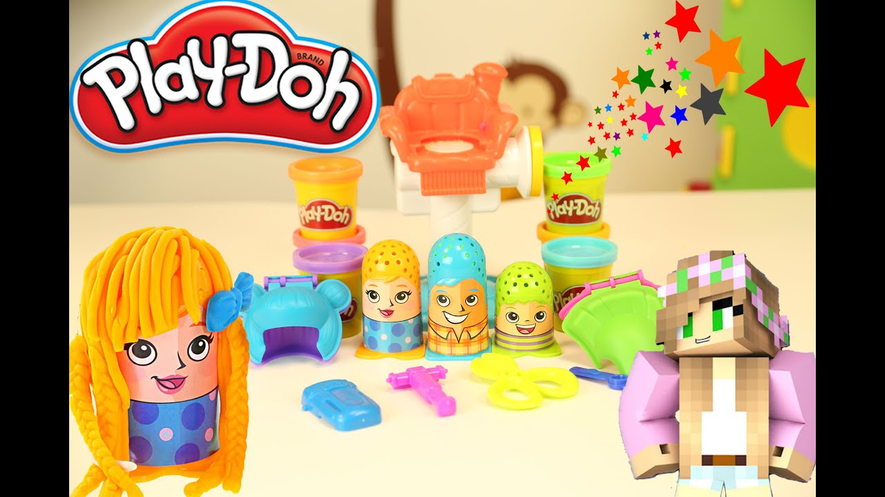 Play Doh Knet Küche Play Doh Crazy Cuts Hairdresser Fun With Buttons The Puppy