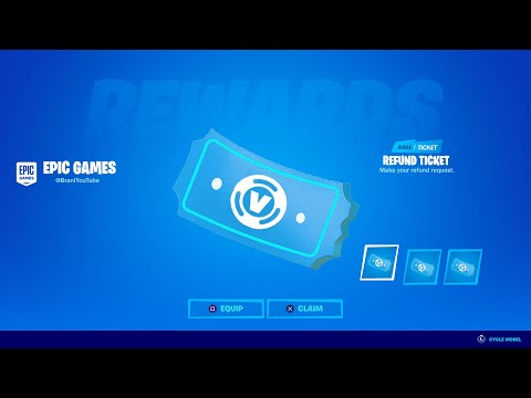 HOW TO GET MORE REFUND TICKETS IN FORTNITE! FORTNITE REFUND TICKETS SYSTEM
