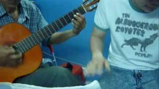 dem hat guitar: dem  thanh pho day sao