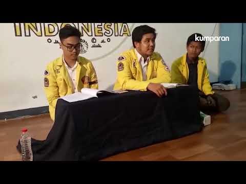 Konferensi Pers Aksi Kartu Kuning