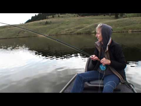 Chironomid Fishing With Mom