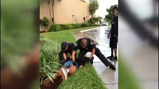 Video shows Florida cop punch 14-year-old girl