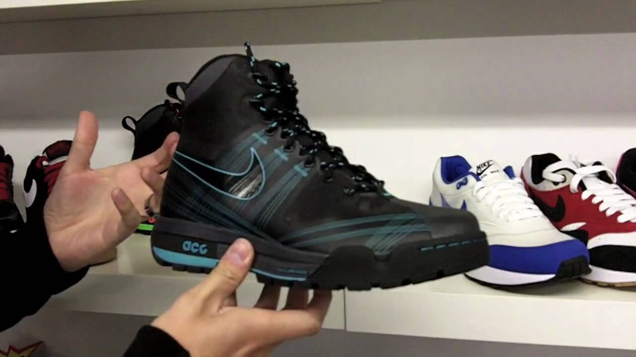 Nike Air Max Goadome and Woodside Boot by stick2dascript