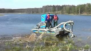 Robot do czyszczenia stawów i jezior