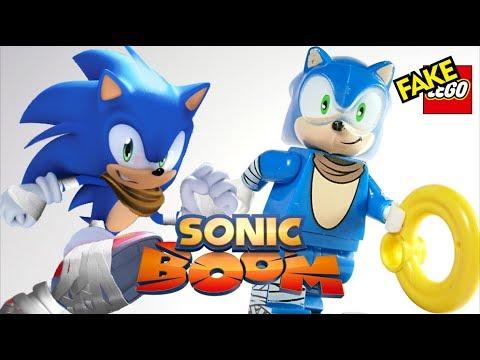 Hedgehog Sonic Boom Knuckle Sega Custom Lego Mini Figure Tomy Animation Toy