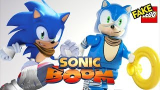 Lego Sonic Boom Unofficial Custom Minifigures Gaming Toy Figures