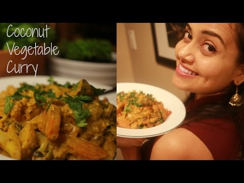 Easy Coconut Vegetable Curry || Neha Gandhi