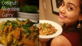 Easy Coconut Vegetable Curry || Neha Gandhi