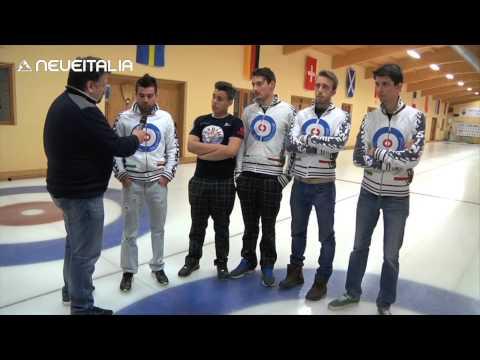 Curling - campionati italiani a cembra - intervista a simone gonin