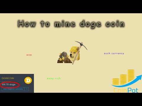 HOW TO MINE DOGE COIN FOR FREE! USING COINPOT