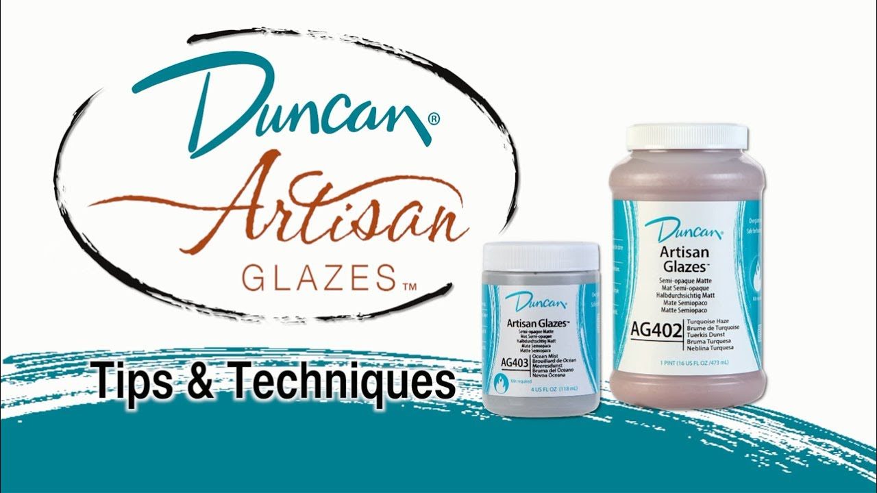 Duncan Artisan Glazes Tips And Techniques Youtube