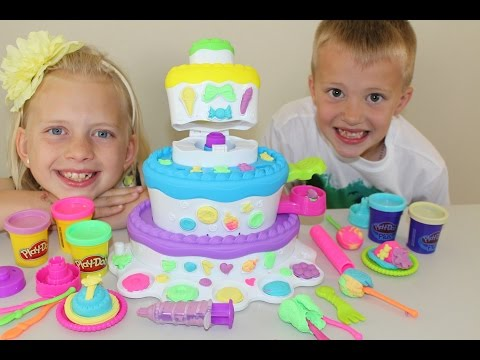 Thumbnail: Play-Doh Sweet Shoppe Cake Mountain